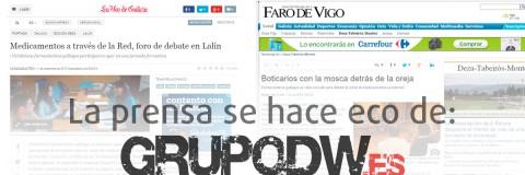 """La prensa digital gallega se hace eco de la Jornada Formativa a cargo de GrupoDw: """"La farmacia en Internet"""""""