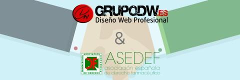 ASEDEF confía en GrupoDW como la solución tecnológica más completa para el sector farmacéutico