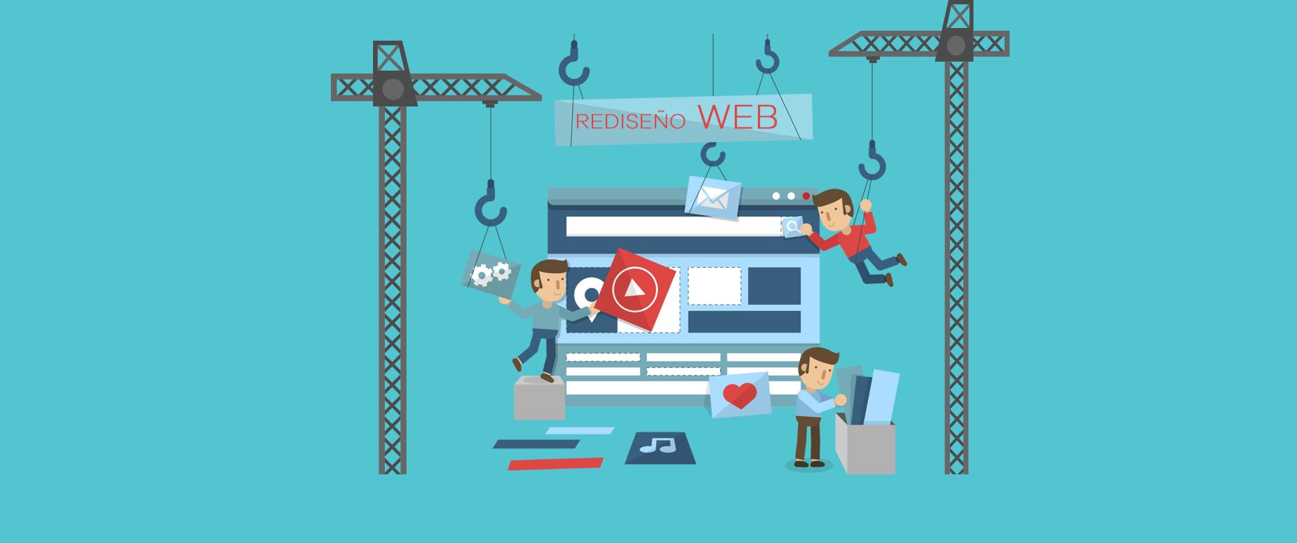 ¿Por qué necesitas rediseñar o actualizar tu página web?