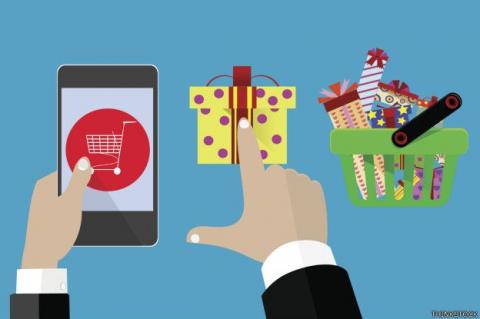 Ventas a través de dispositivos móviles en Navidad